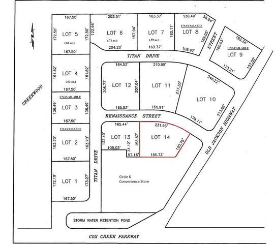 Lot14 Renaissance St, Florence, AL 35630 (MLS #153911) :: MarMac Real Estate