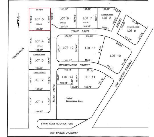 Lot 5 Titan Dr, Florence, AL 35630 (MLS #153968) :: MarMac Real Estate