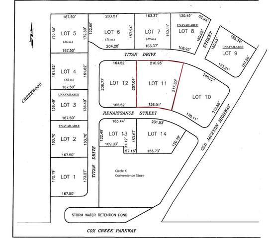 Lot11 Renaissance St, Florence, AL 35630 (MLS #154159) :: MarMac Real Estate