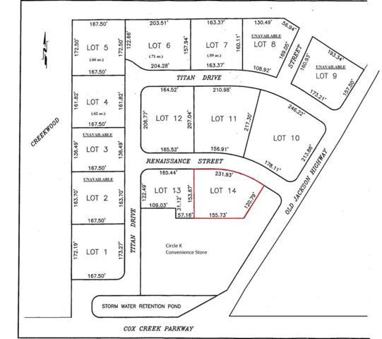 Lot14 Renaissance St, Florence, AL 35630 (MLS #424236) :: MarMac Real Estate