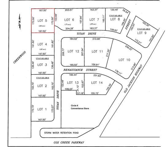 Lot 5 Titan Dr, Florence, AL 35630 (MLS #424763) :: MarMac Real Estate