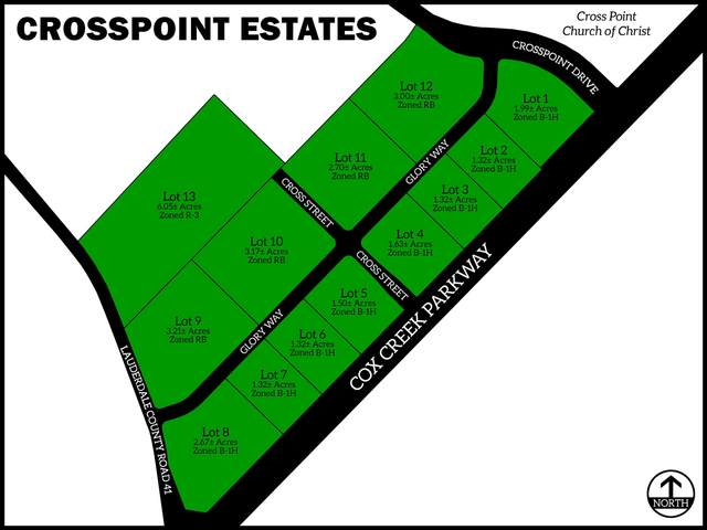 Cor Crosspoint Dr & Glory Way, Florence, AL 35633 (MLS #500975) :: MarMac Real Estate