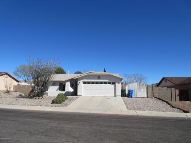 4869 Los Reyes Drive, Sierra Vista, AZ 85635 (MLS #166588) :: Service First Realty