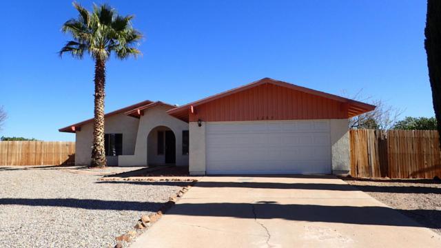 1285 S Plaza Escavel, Sierra Vista, AZ 85635 (MLS #166642) :: Service First Realty