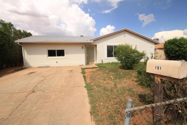 151 Witt Drive, Sierra Vista, AZ 85635 (MLS #168039) :: Service First Realty
