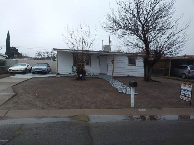 112 E Navajo Street, Huachuca City, AZ 85616 (MLS #171547) :: Service First Realty