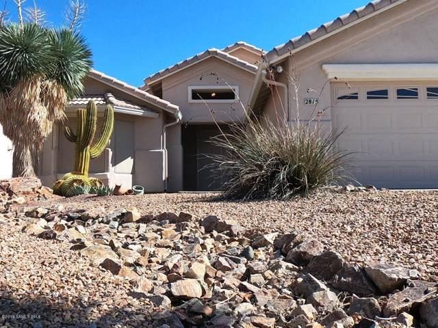 2815 Glengarry Way, Sierra Vista, AZ 85650 (MLS #172466) :: Service First Realty