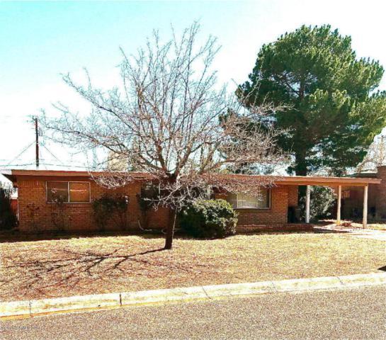 1101 Bella Vista Drive, Sierra Vista, AZ 85635 (MLS #166260) :: Service First Realty