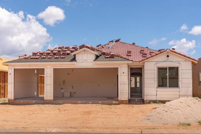 1157 Barnes Drive Lot 246, Sierra Vista, AZ 85635 (MLS #167374) :: Service First Realty