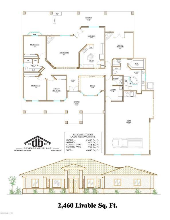 2460 Sq Ft Apache Point Road, Hereford, AZ 85615 (MLS #167163) :: Service First Realty