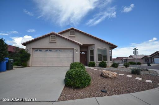 1143 Monte Vista Avenue, Sierra Vista, AZ 85635 (#167995) :: Long Realty Company