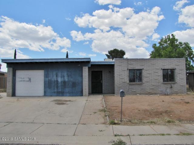 4919 E Vespucci Drive, Sierra Vista, AZ 85635 (MLS #170882) :: Service First Realty