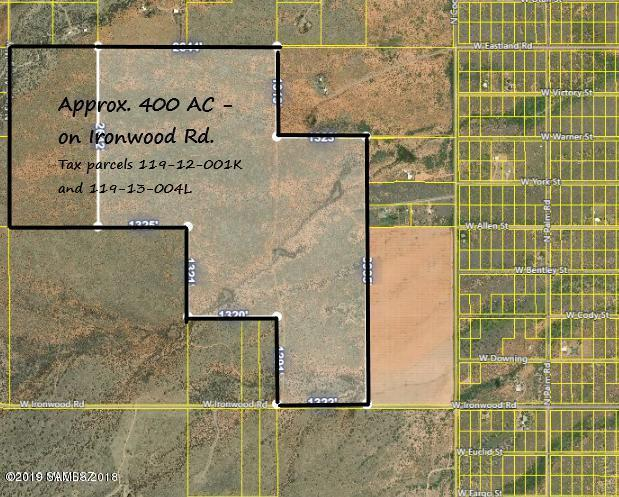 400 Ac On Ironwood Rd, Cochise, AZ 85606 (MLS #171517) :: Service First Realty