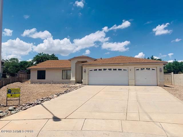 4993 E Santiago Court, Sierra Vista, AZ 85635 (MLS #171677) :: Service First Realty