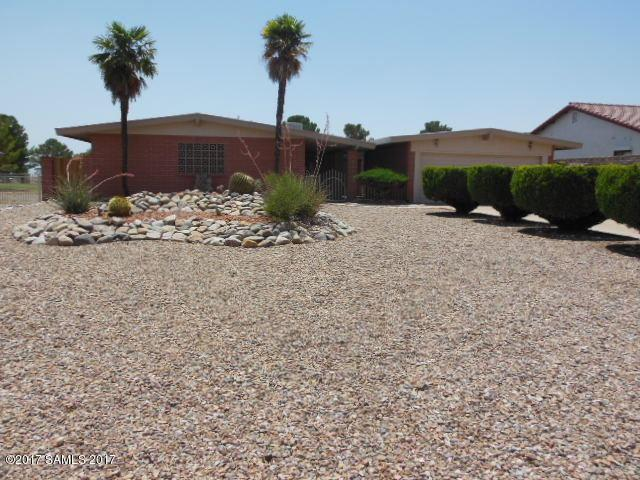 3316 Pebble Beach Drive, Sierra Vista, AZ 85650 (#163559) :: Long Realty Company