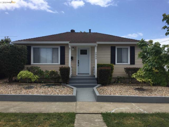 2800 Lincoln Ave, Richmond, CA 94804 (#EB40824331) :: The Goss Real Estate Group, Keller Williams Bay Area Estates