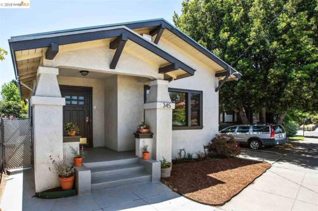 345 42Nd St, Oakland, CA 94609 (#EB40824964) :: The Goss Real Estate Group, Keller Williams Bay Area Estates