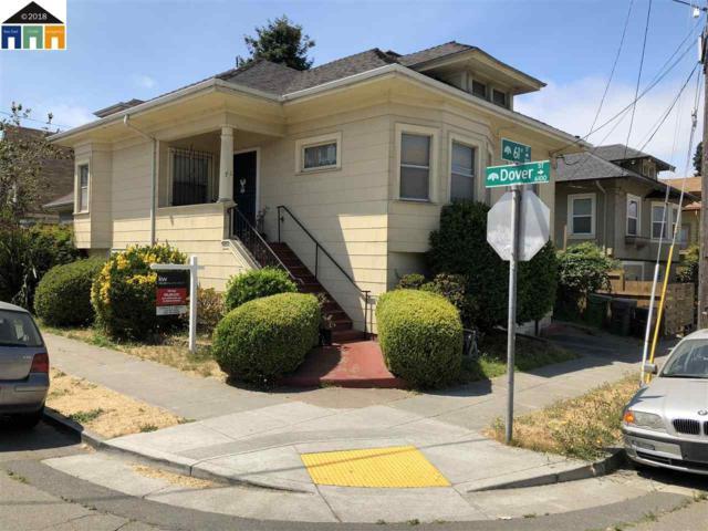 705 61st Street, Oakland, CA 94609 (#MR40833085) :: The Goss Real Estate Group, Keller Williams Bay Area Estates