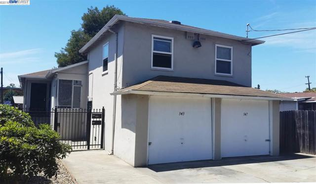 347 Foothill Blvd, San Leandro, CA 94577 (#BE40834365) :: The Kulda Real Estate Group