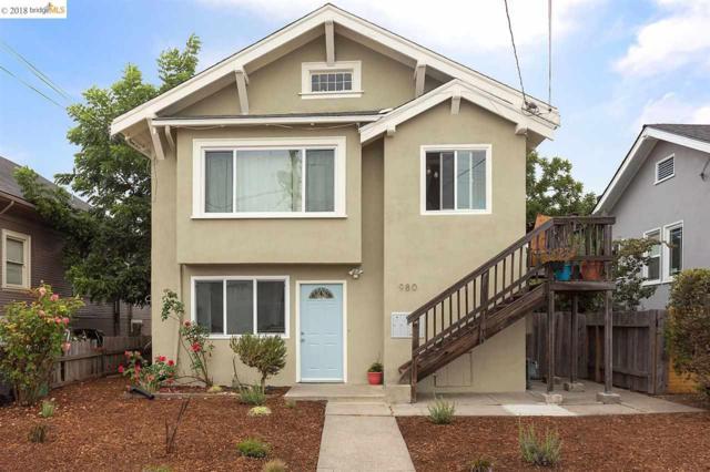 980 Apgar St., Oakland, CA 94608 (#EB40834375) :: The Goss Real Estate Group, Keller Williams Bay Area Estates