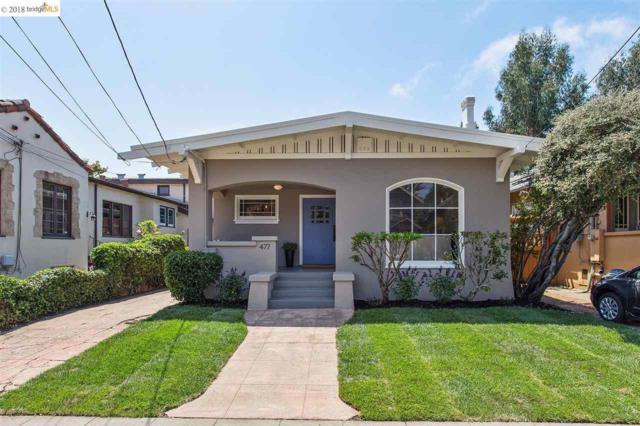 477 Hardy St, Oakland, CA 94618 (#EB40834511) :: The Warfel Gardin Group