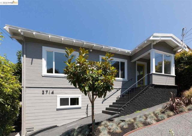2714 Montana St, Oakland, CA 94602 (#EB40834930) :: The Kulda Real Estate Group