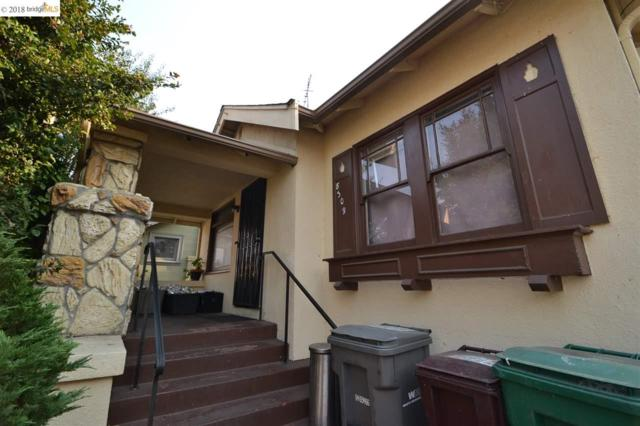 8309 Iris St, Oakland, CA 94605 (#EB40845653) :: The Kulda Real Estate Group