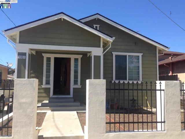 1951 Auseon Ave, Oakland, CA 94621 (#BE40849392) :: The Warfel Gardin Group