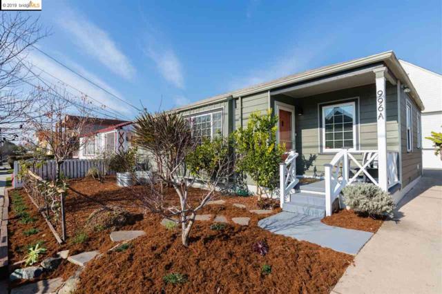 996A 62nd Street, Oakland, CA 94608 (#EB40849504) :: The Warfel Gardin Group