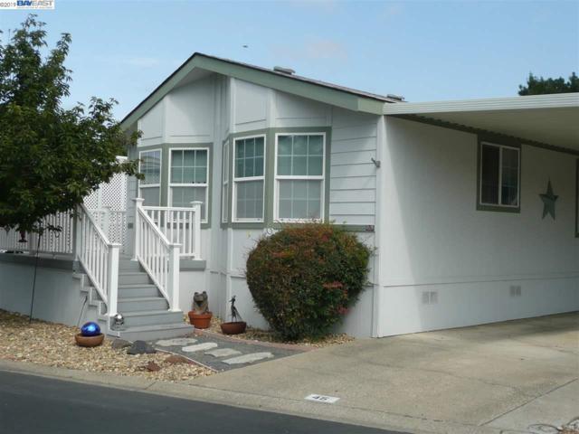 3263 Vineyard Ave #45, Pleasanton, CA 94566 (#BE40849816) :: The Warfel Gardin Group