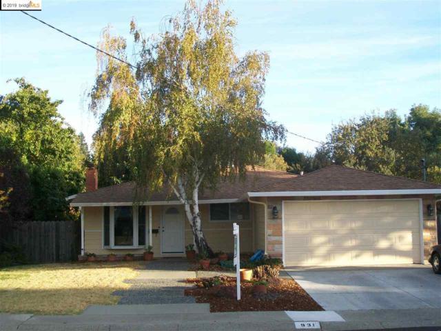 931 Santa Cruz Dr, Pleasant Hill, CA 94523 (#EB40853021) :: Live Play Silicon Valley