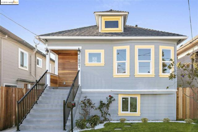 1207 40th Ave, Oakland, CA 94601 (#EB40856874) :: The Gilmartin Group