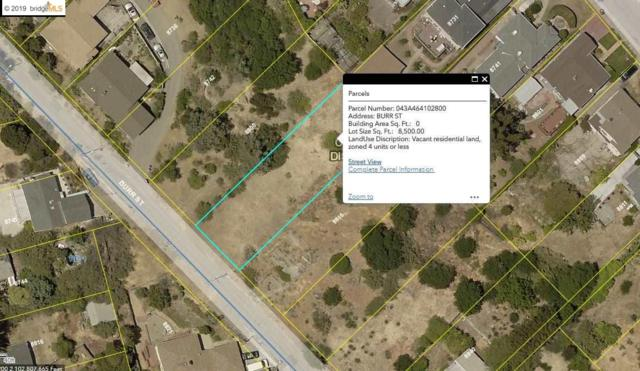 Burr St, Oakland, CA 94621 (#EB40867711) :: Strock Real Estate