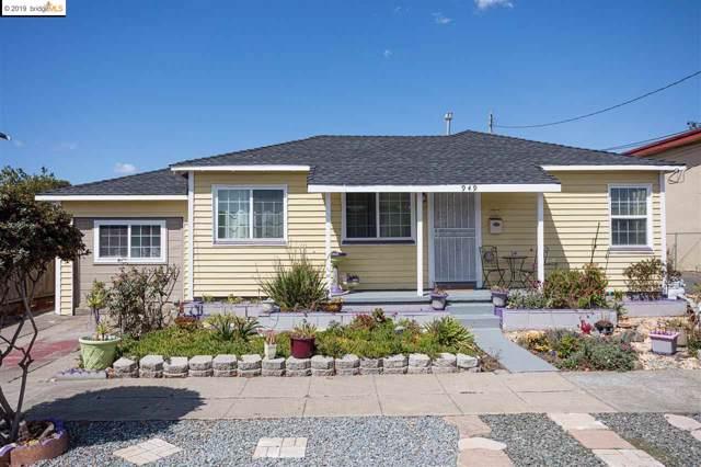 949 S 45Th St, Richmond, CA 94804 (#EB40882823) :: The Sean Cooper Real Estate Group