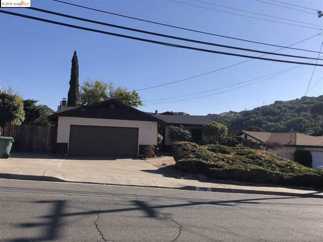 2478 Wright Avenue, Pinole, CA 94564 (#EB40889104) :: The Gilmartin Group
