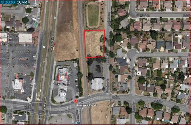 0 Broadway Street, Vallejo, CA 94589 (#CC40905358) :: The Goss Real Estate Group, Keller Williams Bay Area Estates