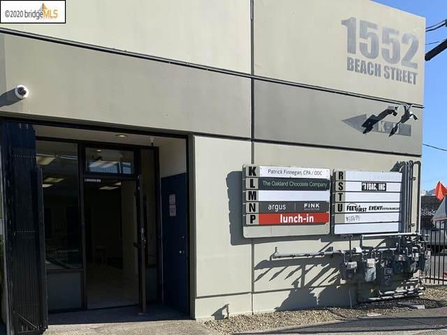 1552 Beach St Unit K, Oakland, CA 94608 (#MR40905931) :: Strock Real Estate