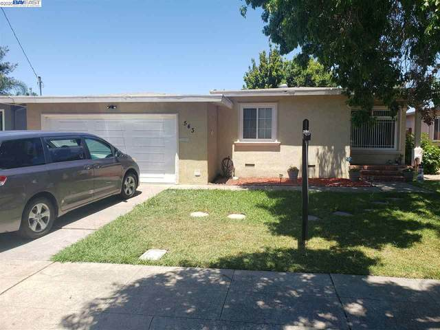 543 Shirley, Hayward, CA 95451 (#BE40907131) :: The Kulda Real Estate Group