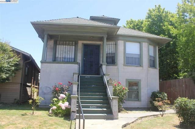 6424 San Pablo Ave, Oakland, CA 94608 (#BE40909489) :: Alex Brant Properties