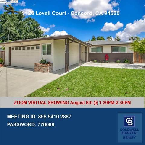 1126 Lovell Ct, Concord, CA 94520 (#BE40915225) :: Alex Brant Properties