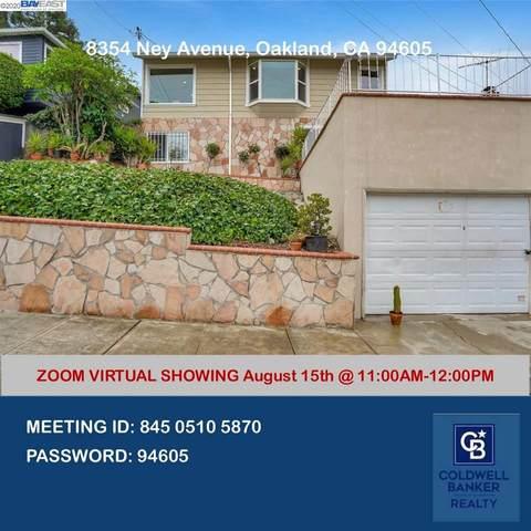 8354 Ney Ave, Oakland, CA 94605 (#BE40915645) :: The Realty Society
