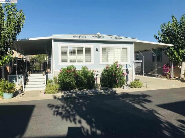 3231 Vineyard Ave Spc #54 54, Pleasanton, CA 94566 (#BE40916037) :: The Realty Society