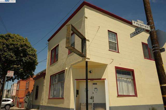 2845 Ingalls St, San Francisco, CA 94124 (#BE40921626) :: The Sean Cooper Real Estate Group
