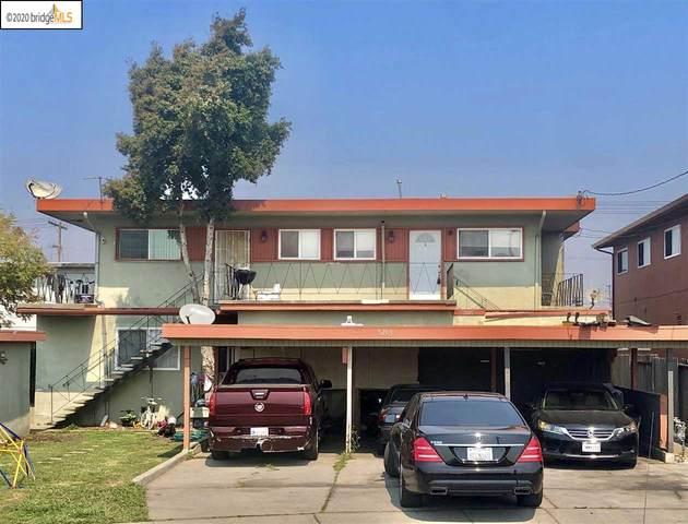 5205 Colusa Ave, Richmond, CA 94806 (#EB40922855) :: The Realty Society