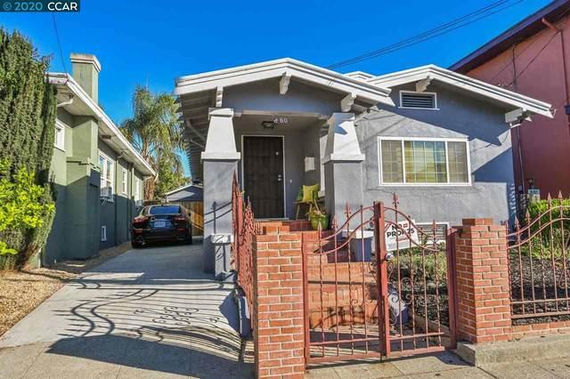880 40Th St, Oakland, CA 94608 (#CC40926360) :: The Goss Real Estate Group, Keller Williams Bay Area Estates