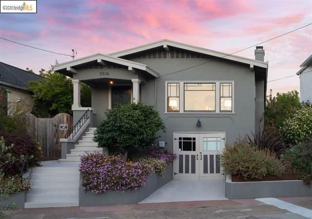 5516 Vicente Way, Oakland, CA 94609 (#EB40927259) :: The Realty Society