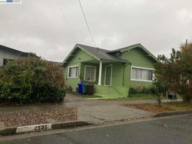 2539 Humphrey Ave, Richmond, CA 94804 (#BE40929704) :: The Realty Society