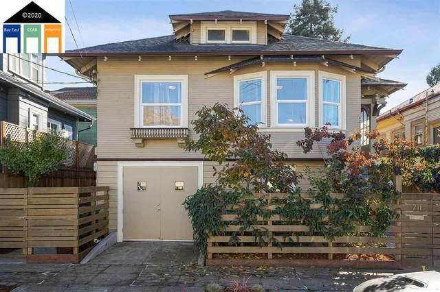711 61st Street, Oakland, CA 94609 (#MR40928358) :: The Kulda Real Estate Group