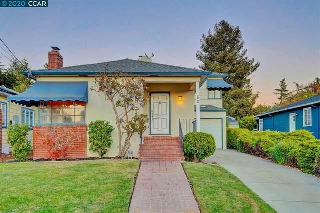 60 Glen Eden Ave, Oakland, CA 94611 (#CC40931145) :: The Kulda Real Estate Group