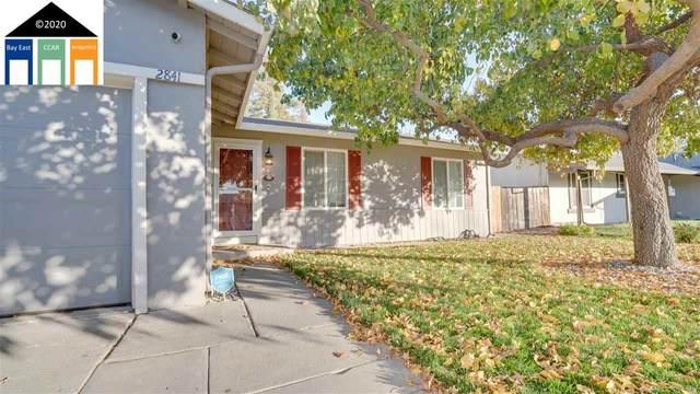 2841 Carmona Way, Antioch, CA 94509 (#MR40932055) :: The Kulda Real Estate Group